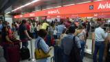 Solo salieron de Barranquilla 9 vuelos de 23 programados