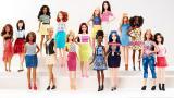 Colección de Barbies que incluyó diferentes tallas de cuerpos, colores y estilos.