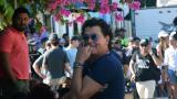 Carlos Vives en una pausa en el barrio Pescaíto