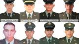 Estos son los ocho policías que fallecieron tras atentado en Antioquia