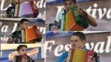 Los cinco acordeoneros que pujan por la corona de Rey Vallenato 2018