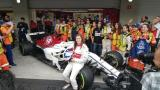 La colombiana Tatiana Calderón, la primera latina en manejar un monoplaza de la F1