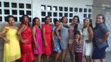 Adultos mayores del 'Escuadrón D' participan en un Fashion Show de modelaje en Malambo