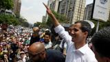 Guaidó llama a la huelga general para sacar a Maduro