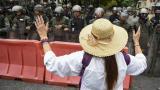 Opositores pidieron en cuarteles cesar apoyo a Maduro, en alerta frente a EEUU