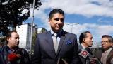 Justicia interroga a opositor de Correa sobre secuestro en Bogotá