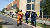 En video   Inspección de desastres evalúa daños en zona de incendio de Buenavista II