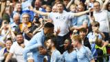 Manchester City arrolla al Watford 6-0 y conquista histórico triplete