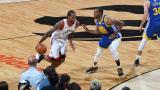 Warriors vencen a Raptors y continúan con vida en Final de la NBA