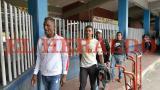 Los colombianos a su llegada a la llega a la Terminal de Transportes.