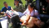 Menor pierde una pierna tras pisar una mina antipersonal en el sur de Bolívar