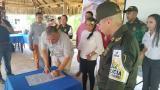 Reunión histórica entre Pimpineros y autoridades en La Guajira