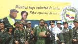 El Paisa, Iván Márquez y Jesús Santrich.