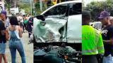 Jarlan Barrera protagoniza accidente de tránsito que deja dos heridos en Antioquia