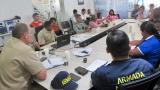 Las principales autoridades estuvieron presentes en la reunión.