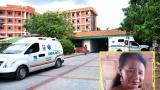 Cleidis del Carmen Castillo permanece en el hospital Rosario Pumarejo de López de Valledupar.
