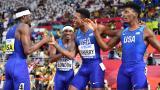 EEUU cierra Doha-2019 con oro en 4x400 m masculino