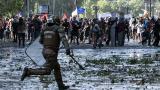 Protestas en Chile llegan a las autopistas por precios de peajes