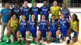 La selección Colombia de baloncesto femenino sub-17 tras un entrenamiento en el Coliseo Elías Chegwin.