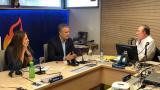 Presidente Duque durante una entrevista en una emisora capitalina.