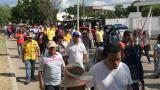 En Santa Marta y Riohacha marcharon contra las políticas del Gobierno nacional