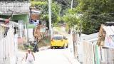 Según la Policía en esta zona de  la carrera a calle 71B con carrera 18, barrio Bajo Valle, se registró una riña.