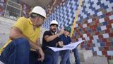 Pumarejo inspeccionó avances de obras en Fábrica de Cultura