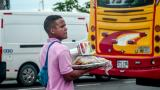 Trabajador informal en Barranquilla.
