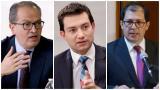 El procurador Fernando Carrillo, el contralor Carlos Córdoba y el fiscal Francisco Barbosa.