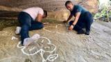 Gobernación interviene petroglifo Mokaná que había sido vandalizado