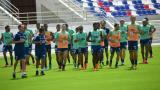 A pleno sol, Flamengo vuelve a entrenar en el Romelio Martínez