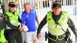 Alan Ross Thif fue llevado en la mañana de este lunes a la sede de Medicina Legal en el barrio Los Andes.