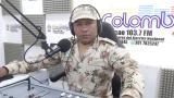 El soldado profesional Samuel Epinayú, del Batallón de Acción Integral N.º 1.