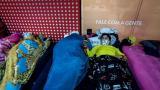 """Más de 200 colombianos permanecen varados en el aeropuerto internacional de Guarulhos, el mayor de Brasil, a la espera de un """"vuelo humanitario"""" de su Gobierno que les lleve de regreso a casa / EFE"""