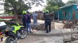 Uniformados adscritos a la Policía de Bolívar en labores de control en los municipios del departamento.