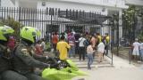 10 heridos de Tasajera son remitidos a Bogotá en vuelo de la FAC