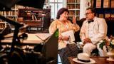 Jennifer Steffens e Ismael Barrios en una escena de la producción 'La invencible Esther'.