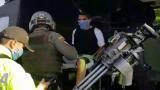 En video   El susto de 'Tommy Masacre' al ser trasladado a Valledupar