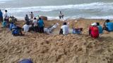 Los habitantes de Puerto Estrella encontraron una solución al problema de desabastecimiento de agua.