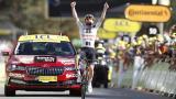 Hirschi se queda con la etapa doce del Tour; Roglic no suelta el liderato
