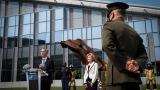 La OTAN homenajea a las víctimas del 11-S en su sede de Bruselas