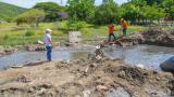 Trabajos por fuga de aguas negras en Pozos Colorados irán hasta fin de mes