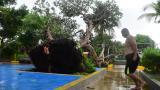 Vendaval causa destrozos en el sur de Barranquilla