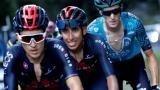 Egan Bernal se recuperará de los fuertes dolores en la espalda que lo sacaron del Tour de Francia.