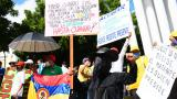 En video | Normalidad en marchas durante jornada de paro nacional