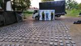 Policía incauta 682 'panelas' de cocaína en Sucre