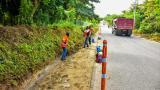 Avanzan trabajos de poda y limpieza en las vías del Atlántico