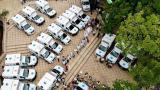 Entregan las primeras 20 ambulancias a la red pública de Sucre