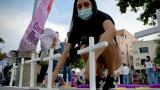 Un 'Estallido feminista' se sintió en Barranquilla