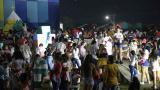 Decenas de personas se congregaron en un evento realizado el fin de semana.